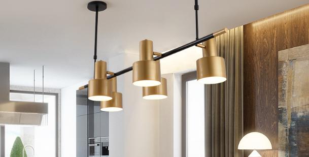 LED Retro Office Pendant Light