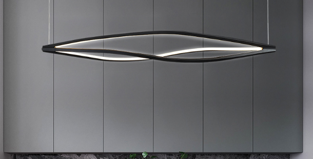 LED Infinity Office Pendant Light
