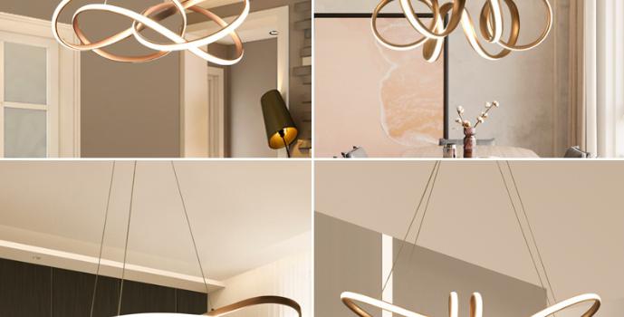 LED Creative Modern Drawing Pendant Light