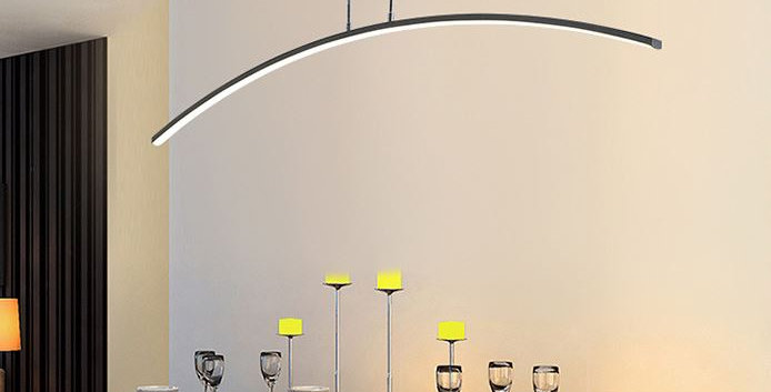 LED Minimalism Arc Design Pendant Light