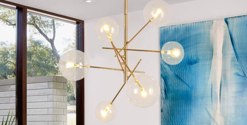 Postmodern North European style Magic Bean Pendant Light Chandelier