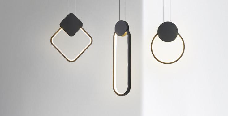 LED Minimalism Creative Pendant Light