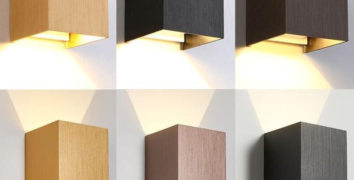 LED Cube Wall Light