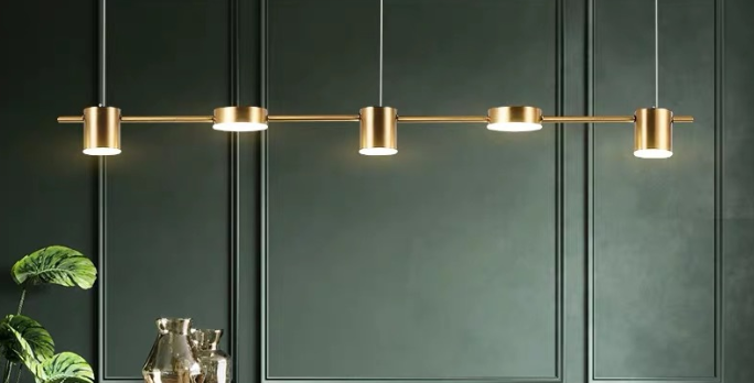 LED Disc & Cylinder Pendant Light
