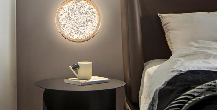 LED Modern Luxury Disc Modern Pendant Light