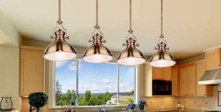 LED Loft American Industrial Pendant Light