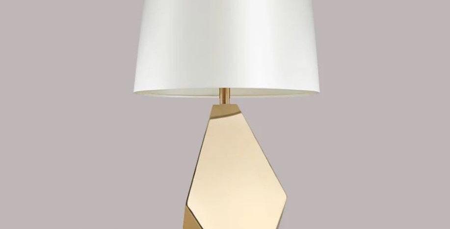 LED Geometric Table Lamp