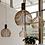 Thumbnail: LED Wood Bird Cage Pendant Light