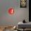 Thumbnail: LED Red Arc Creative Floor Lamp