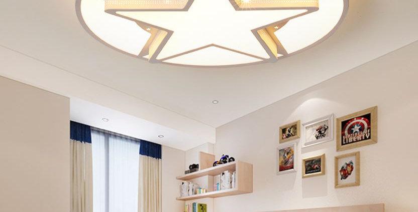 Acrylic Star Ceiling Light for Living Room Bedroom