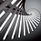 Thumbnail: LED Fishbone Design Pendant Chandelier