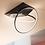 Thumbnail: LED Modern TWINS-HALO Ceiling Light