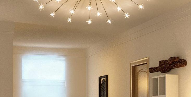 LED Starry Night Ceiling Light