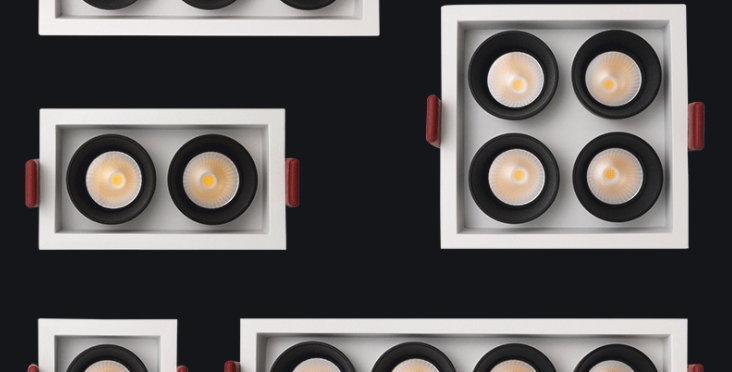 LED COB Antiglare Recessed Spotlight