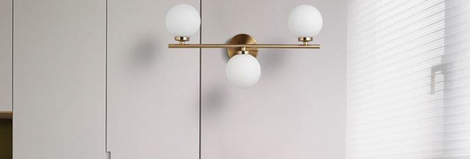 LED Europe Design Glass Wall Light