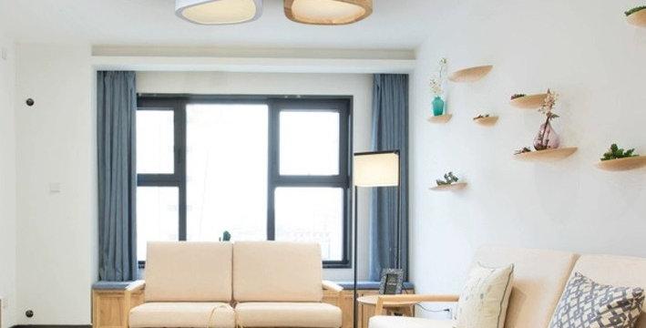 Modern Acrylic LED Flower Ceiling Light for Living Room Bedroom