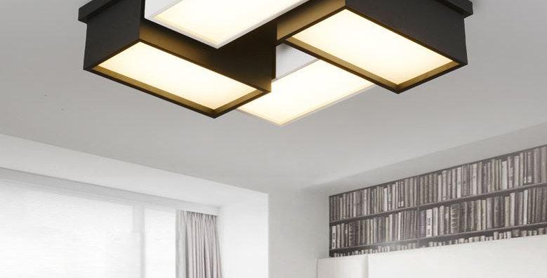 LED Acrylic Geometry Ceiling Light
