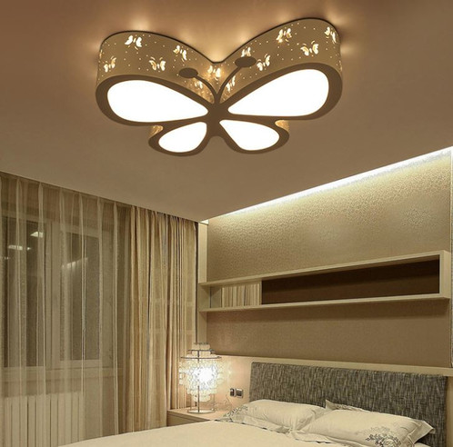 Acrylic LED Butterfly Ceiling Light for Children Room