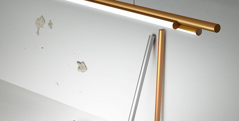 LED Linear+ Modern Office Pendant Light