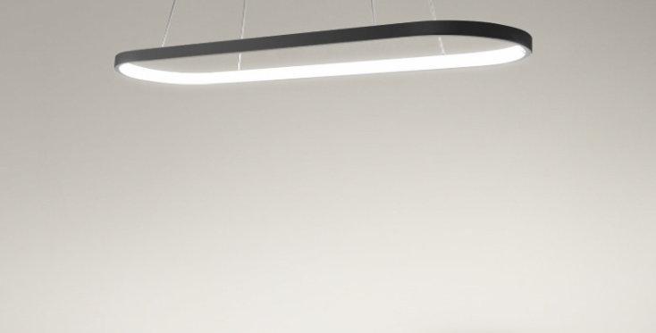 LED Post-modern Halo Design Office Pendant Light