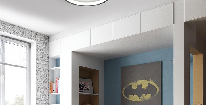 LED Modern Cute Children Ceiling Light