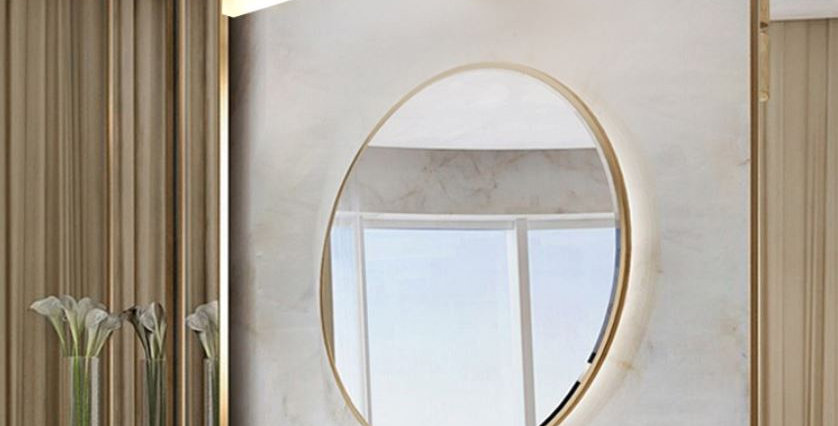 LED Copper Wall Mirror Light