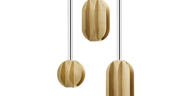 LED Simple Metal Modern Pendant Light