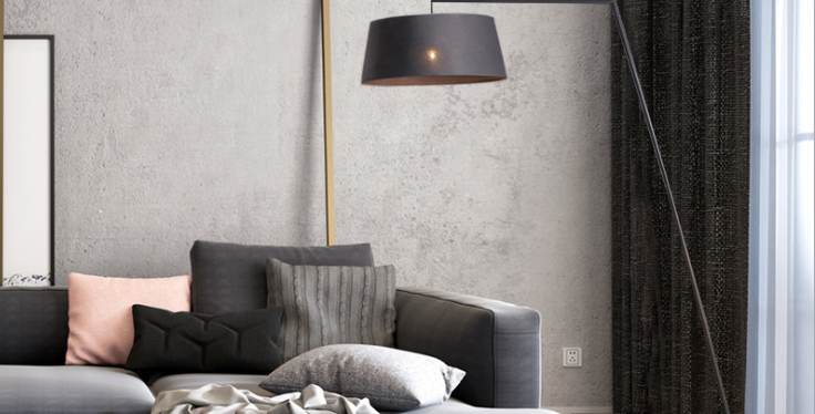 LED Lantern Floor Lamp