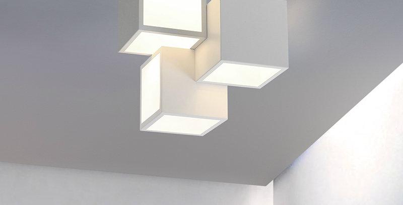 LED Modern Cube3 Ceiling Light