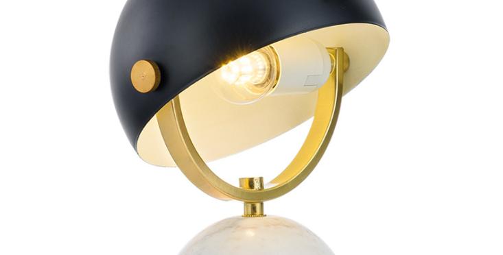 LED Semi-Sphere Modern Table Lamp
