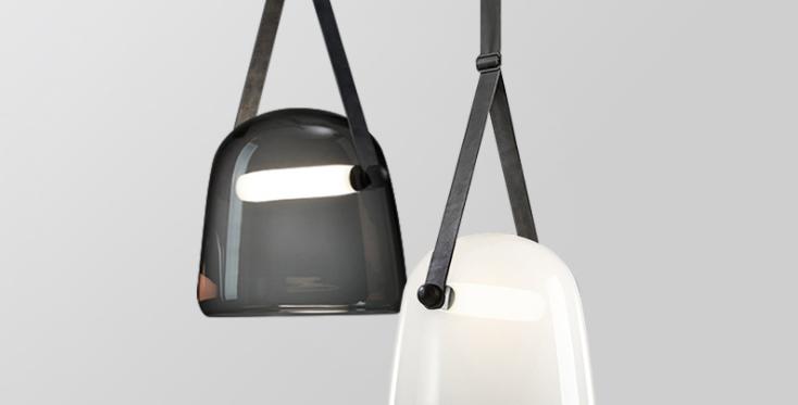 LED Modern Belt Creative Pendant Light