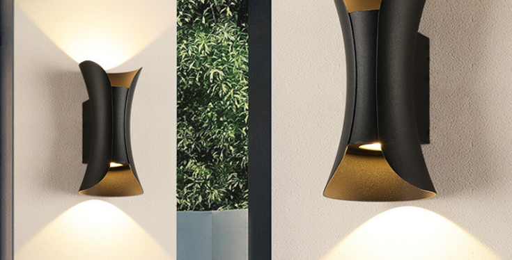 LED Modern Dual Wall Lights