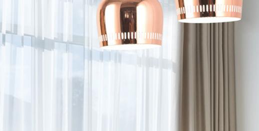 LED Electroplated Modern Pendant Light