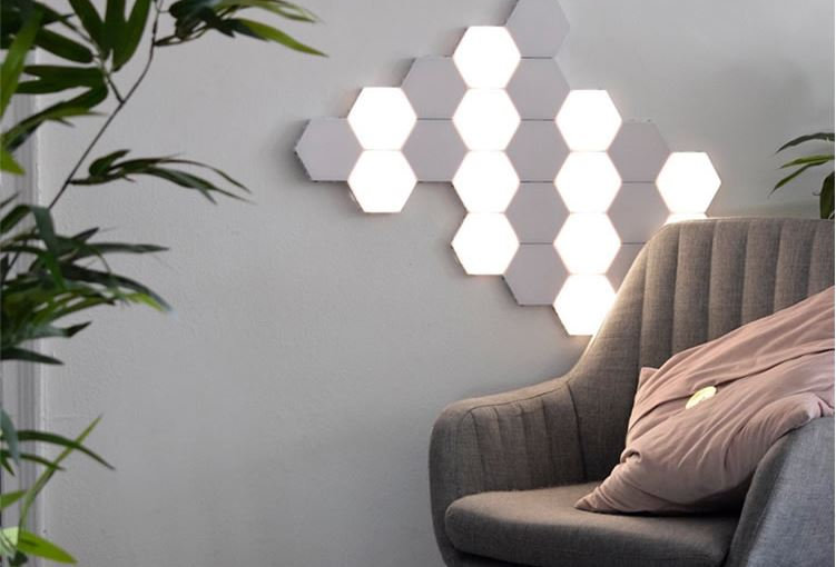 LED Touch Sensitive Honeycomb Wall Light