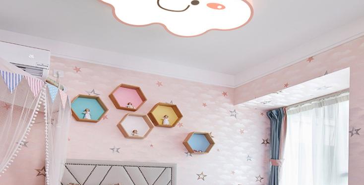 LED Decorative Cute Cloud Design Children Ceiling Light