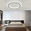 Thumbnail: LED Simple Modern Ceiling Light Black+White