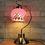 Thumbnail: Mediterranean LED Glass Table Lamp for Bedroom Study Room