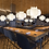 Thumbnail: LED Japanese Style Silk Pendant Light
