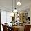 Thumbnail: LED American Country Style 3-Light Design Retro Pendant Light