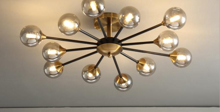 LED DNA Modern Style Luxury Ceiling Pendant Light