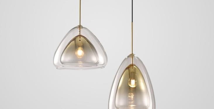 LED Bubble Droplet Modern Pendant Light