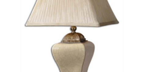 LED Luxury Ceramic European Style Table Lamp