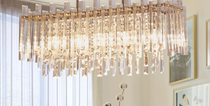 LED Postmodern Crystal Chandelier