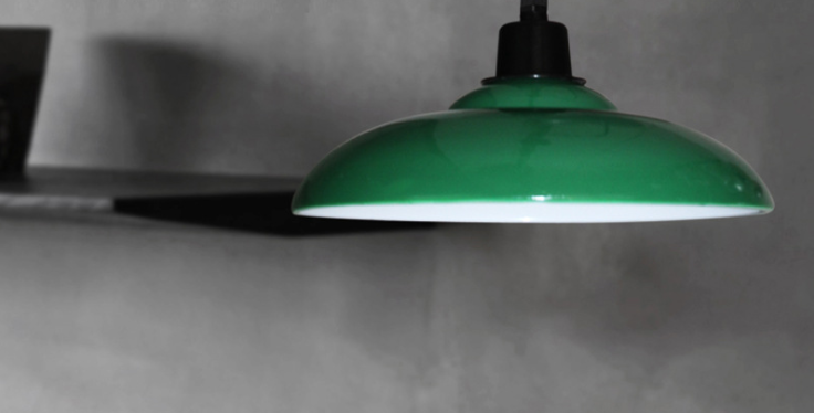 LED Retro Industrial Pendant Light