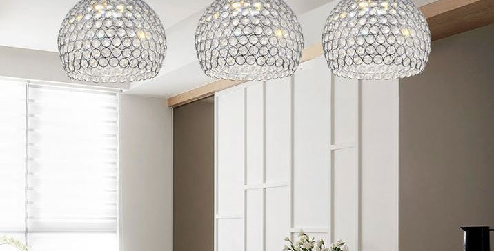 Crystal Modern Design LED Pendant Light
