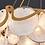 Thumbnail: LED Modern Cloud & Mirror Chandelier Pendant Light