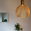 Thumbnail: LED Wood Bird Cage Pendant Light