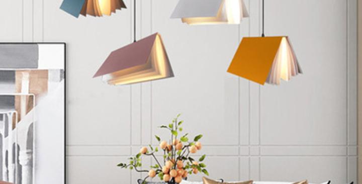 LED Book Design Pendant Light