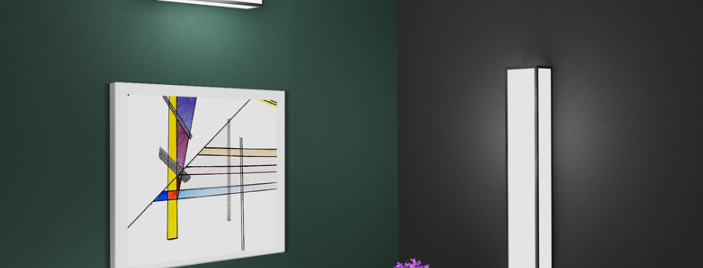 LED Box Design Wall Light