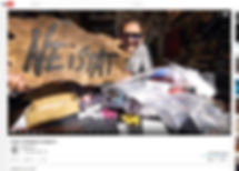 Custom Distressed Sign for Casey Neistat